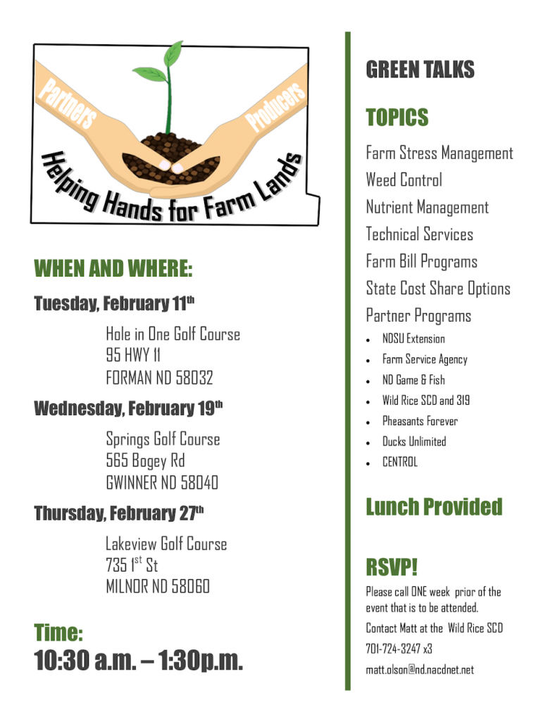 Helping Hands Event Flyer